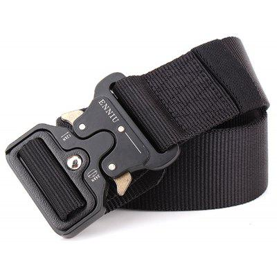 Multi-Function Tactical  Military Style Shooters Nylon Weaving Belt with Metal BuckleMens Belts<br>Multi-Function Tactical  Military Style Shooters Nylon Weaving Belt with Metal Buckle<br><br>Belt Length: 125CM<br>Belt Material: Canvas,Fabric,Knitted<br>Belt Silhouette: Wide Belt<br>Belt Width: 4.5CM<br>Buckle Length: 6.5CM<br>Buckle Width: 6.5CM<br>Gender: For Men<br>Group: Adult<br>Package Contents: 1 X Belt<br>Package size (L x W x H): 10.00 x 10.00 x 5.00 cm / 3.94 x 3.94 x 1.97 inches<br>Package weight: 0.3000 kg<br>Pattern Type: Print<br>Product size (L x W x H): 125.00 x 4.50 x 0.30 cm / 49.21 x 1.77 x 0.12 inches<br>Product weight: 0.2000 kg<br>Style: Fashion