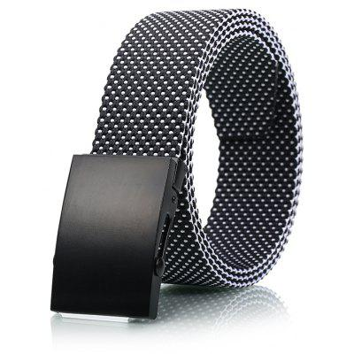 Fashion Adjustable Military Casual Nylon Spots Waist Belt with Metal Buckle Outdoor Sport