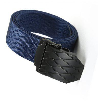 Quick Dry Adjustable Nylon Weaving Waist Belt Breathable with Metal Buckle Outdoor SportMens Belts<br>Quick Dry Adjustable Nylon Weaving Waist Belt Breathable with Metal Buckle Outdoor Sport<br><br>Belt Length: 120CM<br>Belt Material: Canvas,Metal,Knitted<br>Belt Silhouette: Wide Belt<br>Belt Width: 3.8CM<br>Buckle Length: 7.0CM<br>Buckle Width: 5.0CM<br>Gender: For Men<br>Group: Adult<br>Package Contents: 1 X Belt<br>Package size (L x W x H): 10.00 x 10.00 x 5.00 cm / 3.94 x 3.94 x 1.97 inches<br>Package weight: 0.1800 kg<br>Pattern Type: Striped<br>Product size (L x W x H): 120.00 x 3.80 x 0.30 cm / 47.24 x 1.5 x 0.12 inches<br>Product weight: 0.1700 kg<br>Style: Casual