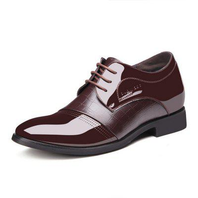 The New Luxury  Invisible Increased Breathable Pointed Business Leather Shoes 9918Formal Shoes<br>The New Luxury  Invisible Increased Breathable Pointed Business Leather Shoes 9918<br><br>Available Size: 38-44<br>Closure Type: Lace-Up<br>Embellishment: Flowers<br>Gender: For Men<br>Insole Material: PU<br>Lining Material: PVC<br>Occasion: Formal<br>Outsole Material: Rubber<br>Package Contents: 1xshoes(pair)<br>Pattern Type: Patchwork<br>Season: Summer, Winter, Spring/Fall<br>Shoe Width: Medium(B/M)<br>Toe Shape: Pointed Toe<br>Toe Style: Closed Toe<br>Upper Material: Microfiber<br>Weight: 1.9800kg