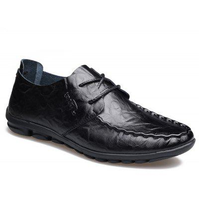 The New Spring Doug with Recreational Leather Shoes 1689