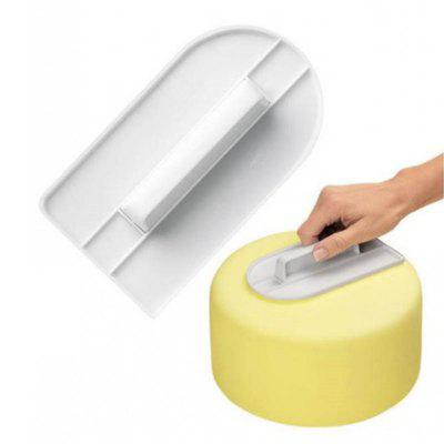 New Plastic Cake Cream Smooth Tool Kitchen Bakeware Cooking Screeding Unit Wipe Surface Cakes Decorating Tools