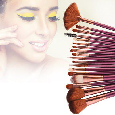 MAANGE Pro Makeup Brush for Eye Shadow Brow Eyeliner Eyelash Lip Foundation Power Cosmetic 18PCS
