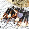 MAANGE Professional Luxury Complete Makeup Brushes Tools 15PCS - 01#