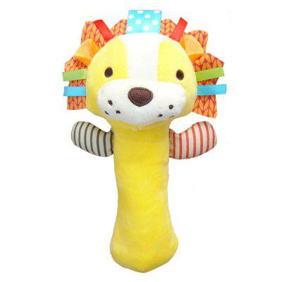 Animals Style Plush Rattles Toy Brain Game for Baby