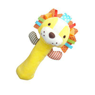 Animals Style Plush Rattles Toy Brain Game for BabyStuffed Cartoon Toys<br>Animals Style Plush Rattles Toy Brain Game for Baby<br><br>Features: Soft, Cartoon<br>Materials: Plush<br>Package Contents: 1 x Plush rattles<br>Package size: 20.00 x 10.00 x 20.00 cm / 7.87 x 3.94 x 7.87 inches<br>Package weight: 0.0550 kg<br>Product size: 17.00 x 5.00 x 17.00 cm / 6.69 x 1.97 x 6.69 inches<br>Product weight: 0.0500 kg<br>Series: Fashion,Fantasy<br>Theme: Leisure