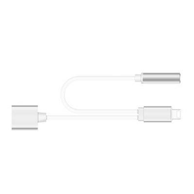 Connector To 3.5MM Headphone Earphone Extender Adapter Convenient anone Suitable for iPad / iphoneiPhone Cables &amp; Adapters<br>Connector To 3.5MM Headphone Earphone Extender Adapter Convenient anone Suitable for iPad / iphone<br><br>Package size (L x W x H): 4.00 x 3.00 x 2.00 cm / 1.57 x 1.18 x 0.79 inches<br>Package weight: 0.0280 kg<br>Product weight: 0.0250 kg