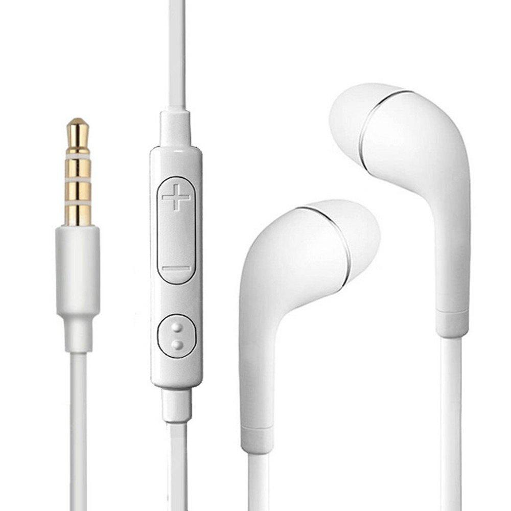 Wired Earphones In Ear Microphone Bass Stereo Sports Running with Mic