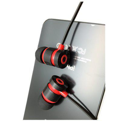 Metal Magic Sound Noodle Line 3.5 Mm Headphone In-Ear Rich Bass Earphones Earbud with MicEarbud Headphones<br>Metal Magic Sound Noodle Line 3.5 Mm Headphone In-Ear Rich Bass Earphones Earbud with Mic<br><br>Compatible with: Mobile phone, iPhone, MP3<br>Connectivity: Wired<br>Function: Voice control, Answering Phone, MP3 player<br>Material: ABS<br>Package Contents: 1 x Headset<br>Package size (L x W x H): 5.00 x 2.00 x 2.00 cm / 1.97 x 0.79 x 0.79 inches<br>Package weight: 0.0320 kg<br>Product weight: 0.0300 kg<br>Type: In-Ear