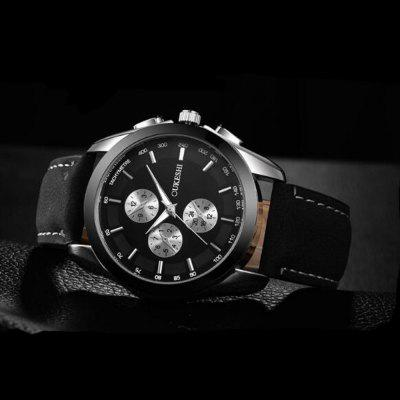High-Grade MenS Watches European and American Popular Three Quartz WatchMens Watches<br>High-Grade MenS Watches European and American Popular Three Quartz Watch<br><br>Available Color: Black,White,Blue,Brown,White and Black<br>Band material: Leather<br>Band size: 245mm<br>Case material: Zinc Alloy<br>Clasp type: Pin buckle<br>Display type: Analog<br>Movement type: Quartz watch<br>Package Contents: 1x watch<br>Package size (L x W x H): 30.00 x 5.00 x 5.00 cm / 11.81 x 1.97 x 1.97 inches<br>Package weight: 0.1000 kg<br>Product size (L x W x H): 24.50 x 4.20 x 2.20 cm / 9.65 x 1.65 x 0.87 inches<br>Product weight: 0.0600 kg<br>Shape of the dial: Round<br>Special features: Luminous, Date, Light<br>Watch style: Fashion, Business, Casual<br>Watches categories: Men<br>Water resistance: 30 meters