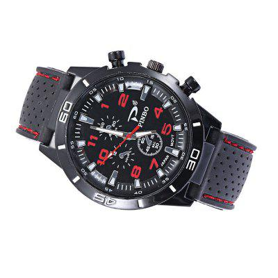 Motor Sports Mens Fashion Strap Silicone WatchMens Watches<br>Motor Sports Mens Fashion Strap Silicone Watch<br><br>Band material: Silicone<br>Case material: Alloy<br>Clasp type: Buckle<br>Display type: Analog<br>Movement type: Quartz watch<br>Package Contents: 1 x watch<br>Package size (L x W x H): 10.00 x 5.00 x 2.00 cm / 3.94 x 1.97 x 0.79 inches<br>Package weight: 0.0600 kg<br>Product size (L x W x H): 23.00 x 4.00 x 1.00 cm / 9.06 x 1.57 x 0.39 inches<br>Product weight: 0.0550 kg<br>Shape of the dial: Round<br>Watch mirror: Resin glass<br>Watch style: Outdoor Sports, Trends in outdoor sports, Cool, Fashion, Casual<br>Watches categories: Men