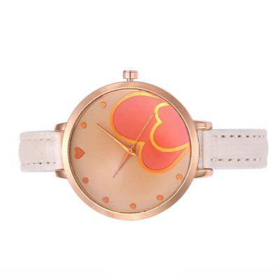 Heart Simple Scale Ladies Fine Watch
