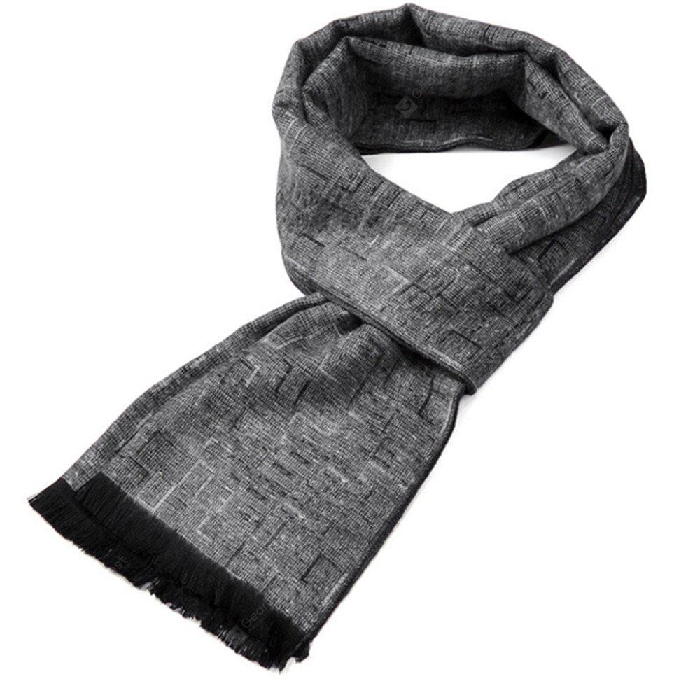 Men's Classic  Winter Warm Soft Neck Scarf