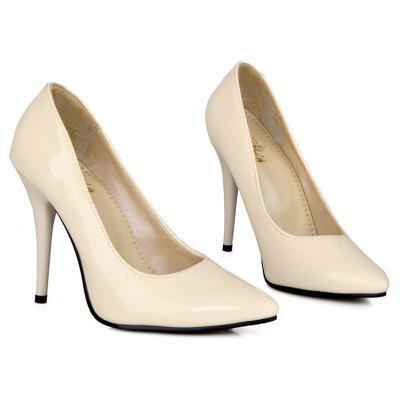 Sexy High and Thin with A Shallow-Top Single-Shoe Ball Wedding WomenS ShoesWomens Pumps<br>Sexy High and Thin with A Shallow-Top Single-Shoe Ball Wedding WomenS Shoes<br><br>Heel Height: 10.5cm<br>Heel Height Range: Super High(Above4)<br>Heel Type: Stiletto Heel<br>Occasion: Wedding<br>Outsole Material: Rubber<br>Package Contents: 1 x shoes(pair)<br>Pumps Type: Basic<br>Season: Summer, Spring/Fall<br>Toe Shape: Pointed Toe<br>Toe Style: Closed Toe<br>Upper Material: Patent Leather<br>Weight: 1.3747kg