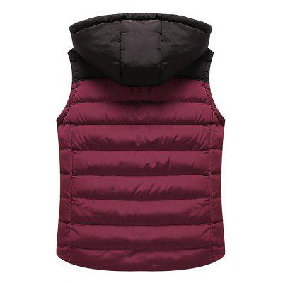 BYF1710 Mens Vest Jacket Color Block Hooded Fashion Casual JacketMens Jackets &amp; Coats<br>BYF1710 Mens Vest Jacket Color Block Hooded Fashion Casual Jacket<br><br>Clothes Type: Waistcoat<br>Detachable Part: Hat Detachable<br>Materials: Polyester<br>Package Content: 1 X Coat<br>Package size (L x W x H): 1.00 x 1.00 x 1.00 cm / 0.39 x 0.39 x 0.39 inches<br>Package weight: 0.8000 kg<br>Size1: L,XL,2XL,3XL