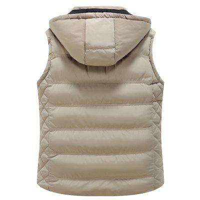 BYF1710 Mens Vest Jacket Sleeveless Solid Color Hooded Fashion Casual JacketMens Jackets &amp; Coats<br>BYF1710 Mens Vest Jacket Sleeveless Solid Color Hooded Fashion Casual Jacket<br><br>Clothes Type: Waistcoat<br>Materials: Polyester<br>Package Content: 1 X Coat<br>Package size (L x W x H): 1.00 x 1.00 x 1.00 cm / 0.39 x 0.39 x 0.39 inches<br>Package weight: 0.8000 kg<br>Size1: M,L,XL,2XL,3XL