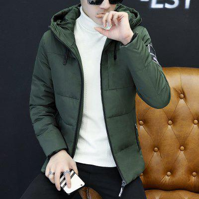 BYF1799 Mens Quilted Coat Solid Color Casual Warm Hooded CoatMens Jackets &amp; Coats<br>BYF1799 Mens Quilted Coat Solid Color Casual Warm Hooded Coat<br><br>Clothes Type: Padded<br>Materials: Polyester<br>Package Content: 1 X  Coat<br>Package size (L x W x H): 1.00 x 1.00 x 1.00 cm / 0.39 x 0.39 x 0.39 inches<br>Package weight: 1.0000 kg<br>Size1: M,L,XL,2XL,3XL