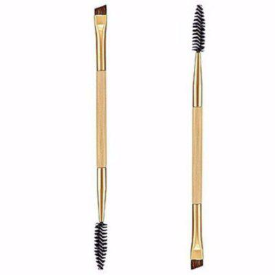 2 In 1 Makeup Tool Double Eyebrow / Eyelash Brush with Bamboo Handle 1PCMakeup Brushes &amp; Tools<br>2 In 1 Makeup Tool Double Eyebrow / Eyelash Brush with Bamboo Handle 1PC<br><br>Brush Material: Fiber Hair<br>Handle Material: Metal, Bamboo<br>Package Content: 1 x Double-Ended Eyebrow Brush<br>Package size (L x W x H): 17.00 x 2.00 x 2.00 cm / 6.69 x 0.79 x 0.79 inches<br>Package weight: 0.0350 kg<br>Product weight: 0.0200 kg<br>Used With: Eye Shadow