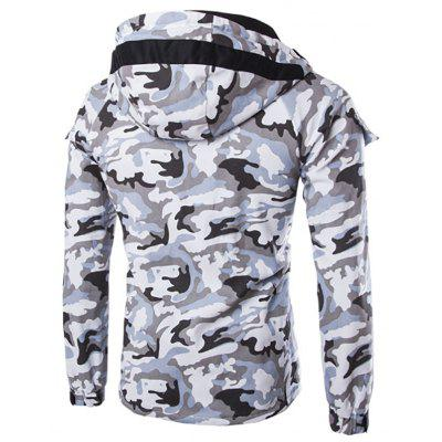 Mens New Foreign Fashion MenS Thin Camouflage Wind Hooded JacketMens Jackets &amp; Coats<br>Mens New Foreign Fashion MenS Thin Camouflage Wind Hooded Jacket<br><br>Clothes Type: Jackets<br>Collar: Hooded<br>jacket: None<br>Material: Cotton Blends<br>Package Contents: 1x jacket<br>Season: Spring, Fall, Winter<br>Shirt Length: Regular<br>Sleeve Length: Long Sleeves<br>Style: Fashion<br>Weight: 0.4800kg