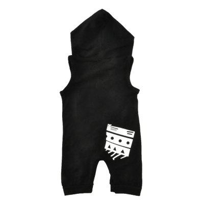 SOSOCOER Newborn Infant Bodysuits Monogrammed Sleeveless Hooded Romperbaby rompers<br>SOSOCOER Newborn Infant Bodysuits Monogrammed Sleeveless Hooded Romper<br><br>Brand: SOSOCOER<br>Closure Type: Pullover<br>Collar: Hooded<br>Color: Black<br>Gender: Unisex<br>Material: Cotton<br>Package Contents: 1 x Romper<br>Pattern Style: Letter<br>Season: Summer<br>Sleeve Length: Sleeveless<br>Sleeve Style: Tank<br>Style: Fashion<br>Thickness: General<br>Weight: 0.1500kg