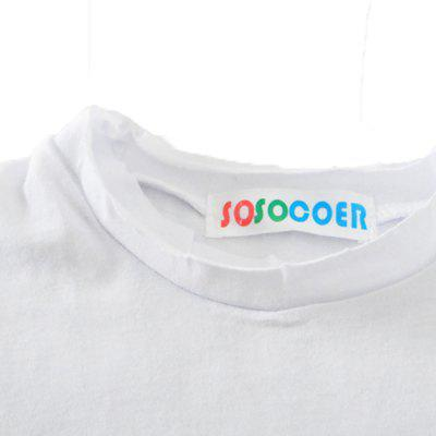 SOSOCOER Children Clothing 2-7T 2018 Summer Fashion Hand Printed Short Sleeved T - ShirtsBoys Tops &amp; T-shirts<br>SOSOCOER Children Clothing 2-7T 2018 Summer Fashion Hand Printed Short Sleeved T - Shirts<br><br>Collar: Round Neck<br>Embellishment: Pattern<br>Material: Cotton<br>Package Contents: 1 x T-shirt<br>Pattern Type: Others<br>Sleeve Length: Short<br>Style: Fashion<br>Weight: 0.1100kg