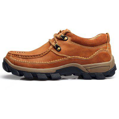 Mens Outdoor Leisure Wear Resistant Breathable Leather ShoesCasual Shoes<br>Mens Outdoor Leisure Wear Resistant Breathable Leather Shoes<br><br>Available Size: 38-44<br>Closure Type: Lace-Up<br>Embellishment: None<br>Gender: For Men<br>Outsole Material: Rubber<br>Package Contents: 1x Shoes (pair)<br>Pattern Type: Patchwork<br>Season: Spring/Fall<br>Toe Shape: Round Toe<br>Toe Style: Closed Toe<br>Upper Material: Full Grain Leather<br>Weight: 1.2000kg
