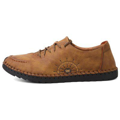 Mens Outdoor Leisure Hiking Wear Resistant Breathable Comfortable Leather ShoesMen's Oxford<br>Mens Outdoor Leisure Hiking Wear Resistant Breathable Comfortable Leather Shoes<br><br>Available Size: 38-44<br>Closure Type: Lace-Up<br>Embellishment: None<br>Gender: For Men<br>Outsole Material: Rubber<br>Package Contents: 1 x Shoes (pair)<br>Pattern Type: Striped<br>Season: Spring/Fall<br>Toe Shape: Round Toe<br>Toe Style: Closed Toe<br>Upper Material: Full Grain Leather<br>Weight: 1.2000kg
