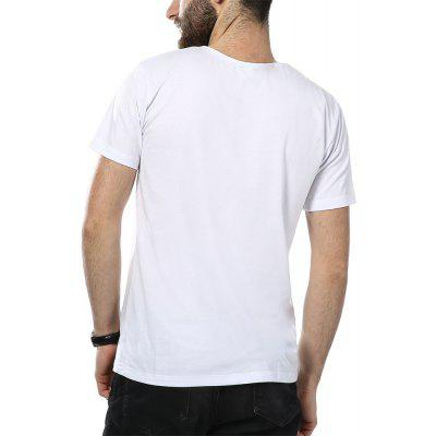 New Fashion MenS Short Sleeve T-ShirtsMens T-shirts<br>New Fashion MenS Short Sleeve T-Shirts<br><br>Collar: Round Neck<br>Fabric Type: Broadcloth<br>Material: Cotton<br>Package Contents: 1XT-shirts<br>Pattern Type: Letter<br>Sleeve Length: Short<br>Style: Casual<br>Weight: 0.1700kg
