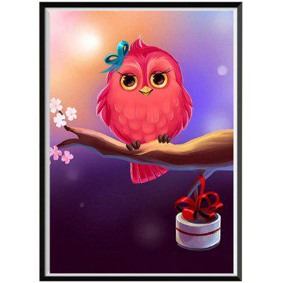 NAIYUE S089 Owl Print Draw 5D Diamond Painting Diamond Embroidery