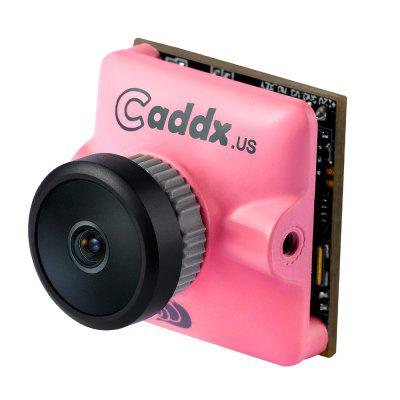Caddx Micro Turbo S1 2.1 / 2.3MM 600TVL 4:3 1/3 CCD NTSC / PAL IR Block Low Latency FPV Camera for Racing Drones