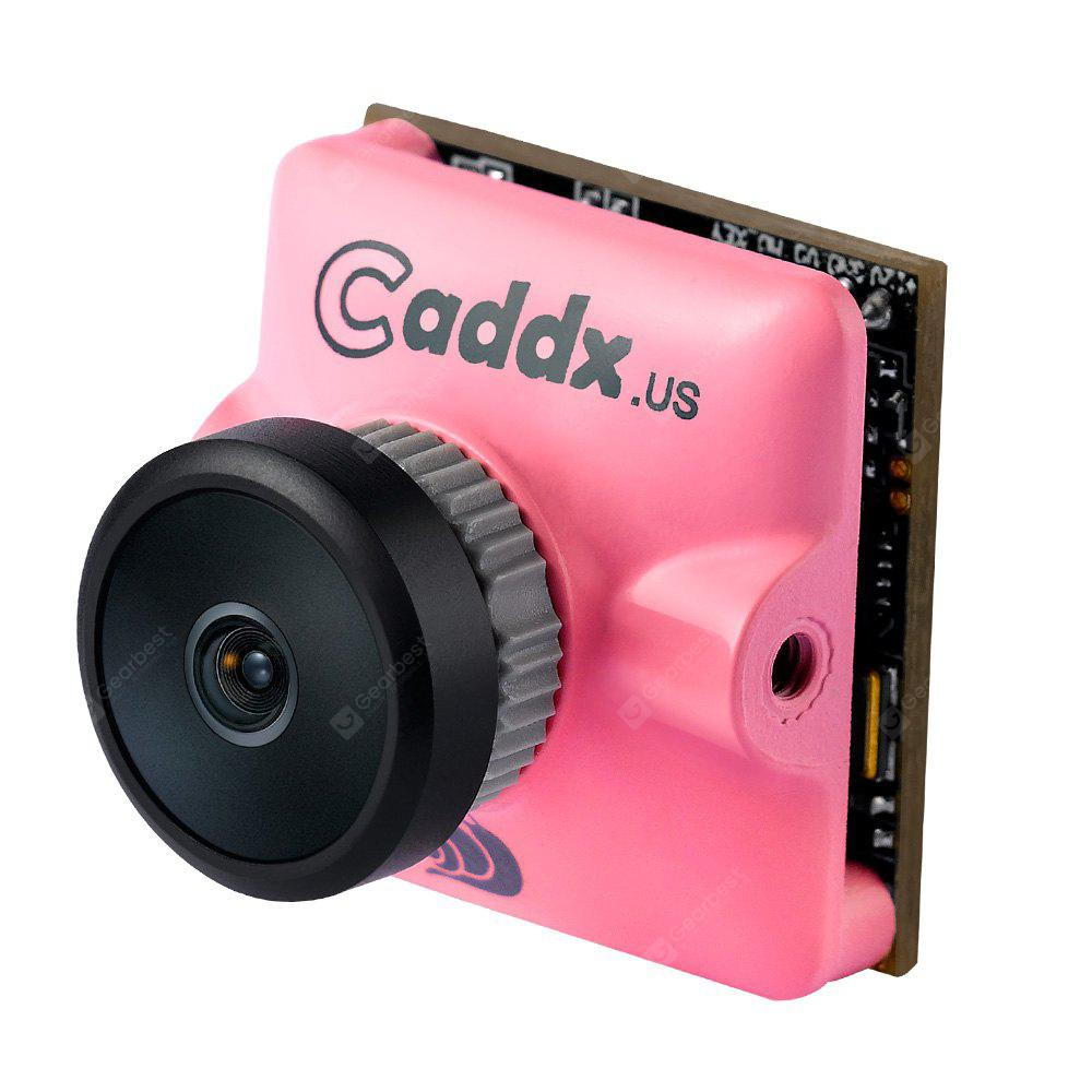 Caddx Micro Turbo S1 2.1 / 2.3MM 600TVL 4:3 1/3 CCD NTSC / PAL IR Block Low Latency FPV Camera Racing Drones PAPAYA