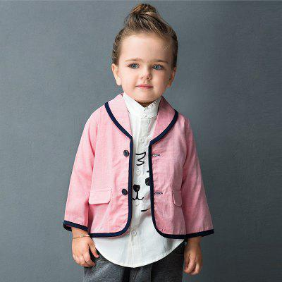 2017 New Arrival Grils Ponte Suit Blazer Notched Collar Girls JacketGirls Outerwear<br>2017 New Arrival Grils Ponte Suit Blazer Notched Collar Girls Jacket<br><br>Clothes Type: Jackets<br>Collar: Turn-down Collar<br>Embellishment: Vintage<br>Material: Cotton<br>Package Contents: 1 x Coat<br>Pattern Type: Solid<br>Shirt Length: Short<br>Sleeve Length: Full<br>Style: Leisure<br>Type: Wide-waisted<br>Weight: 0.2976kg