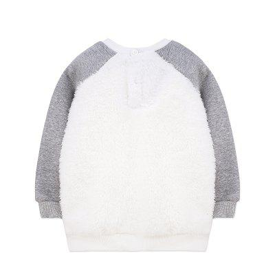 2017 Autuman New Cotton Casual Long Sleeve Patchwork Sweatshirt Boys Pullover Top Shirts Clothing TeesBoys Tops &amp; T-shirts<br>2017 Autuman New Cotton Casual Long Sleeve Patchwork Sweatshirt Boys Pullover Top Shirts Clothing Tees<br><br>Collar: Round Neck<br>Embellishment: Flocking<br>Material: Cotton, Acetate<br>Package Contents: 1 x T-shirt<br>Pattern Type: Solid<br>Sleeve Length: Full<br>Style: Casual<br>Weight: 0.2976kg