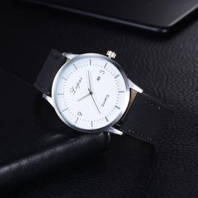 Lvpai P246 Men Analog Quartz Leather Wrist Watch with DateMens Watches<br>Lvpai P246 Men Analog Quartz Leather Wrist Watch with Date<br><br>Band material: PU Leather<br>Band size: 26.4 x 2.4 cm<br>Case material: Alloy<br>Clasp type: Pin buckle<br>Dial size: 4.5 x 4.5 x 1 cm<br>Display type: Analog<br>Movement type: Quartz watch<br>Package Contents: 1 x Watch<br>Package size (L x W x H): 28.00 x 6.00 x 1.50 cm / 11.02 x 2.36 x 0.59 inches<br>Package weight: 0.0460 kg<br>Product size (L x W x H): 26.40 x 4.50 x 1.00 cm / 10.39 x 1.77 x 0.39 inches<br>Product weight: 0.0440 kg<br>Shape of the dial: Round<br>Watch mirror: Mineral glass<br>Watch style: Jewellery, Outdoor Sports, Business, Fashion, Casual<br>Watches categories: Men,Male table<br>Water resistance: Life water resistant