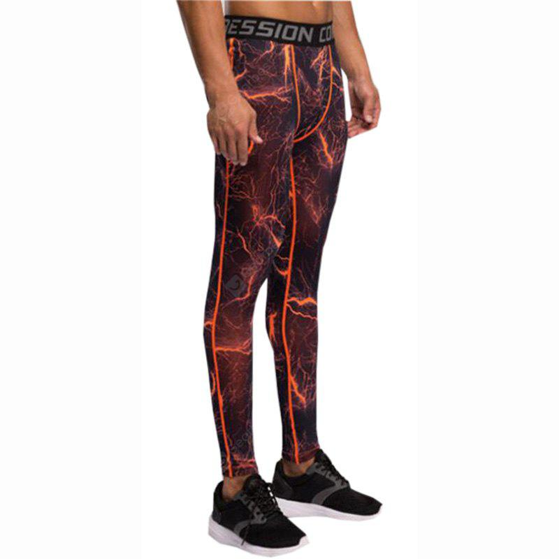 Running Tights Gym Leggings Wearproof Breathability Tights Bottoms Jogging Exercise Fitness Polyester Pants