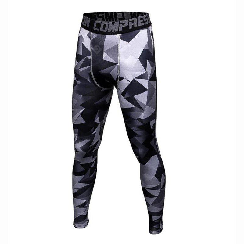 Arsuxeo Men's Running Tights Gym Leggings Fitness Running Yoga Moisture Wicking Three Dimensional Tailor Pants