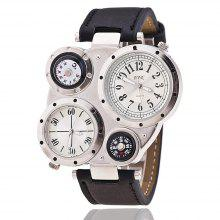 Men'S Watch Multifunctional Compass Trendy Watch Accessory