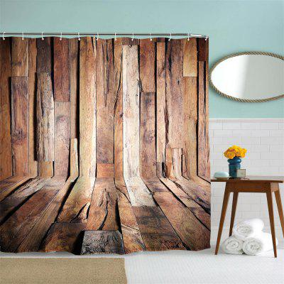 Hardwood Flooring 4 Polyester Shower Curtain Bathroom  High Definition 3D Printing Water-ProofShower Curtain<br>Hardwood Flooring 4 Polyester Shower Curtain Bathroom  High Definition 3D Printing Water-Proof<br><br>Package Contents: 1 x Shower Curtain , 1 x Set of Hooks<br>Package size (L x W x H): 26.00 x 18.00 x 3.00 cm / 10.24 x 7.09 x 1.18 inches<br>Package weight: 0.4500 kg