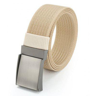 Quick Dry Adjustable Nylon Weaving Waist Belt with Metal Buckle в магазине GearBest