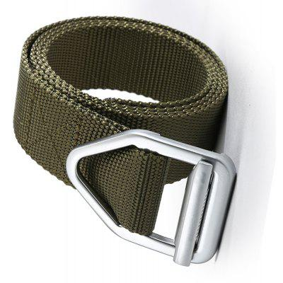 Korean Style Simple Style Quick Dry Weaving Belt Breathable Durable with Metal BuckleMens Belts<br>Korean Style Simple Style Quick Dry Weaving Belt Breathable Durable with Metal Buckle<br><br>Belt Length: 120CM<br>Belt Material: Canvas,Metal,Knitted<br>Belt Silhouette: Wide Belt<br>Belt Width: 3.8CM<br>Buckle Length: 7.5CM<br>Buckle Width: 5.5CM<br>Gender: For Men<br>Group: Adult<br>Package Contents: 1 X Belt<br>Package size (L x W x H): 17.00 x 4.00 x 5.00 cm / 6.69 x 1.57 x 1.97 inches<br>Package weight: 0.1800 kg<br>Pattern Type: Solid<br>Product size (L x W x H): 120.00 x 3.80 x 0.30 cm / 47.24 x 1.5 x 0.12 inches<br>Product weight: 0.1700 kg<br>Style: Casual