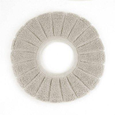 Buy O-Shape Toilet Seats Warm Thick Knitted Pumpkin Pattern Toilet Seat Cushion Diameter GRAY for $2.76 in GearBest store