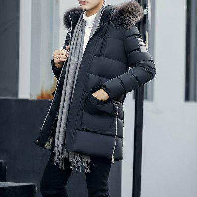 BYF7712 Mens Quilted Coat All Match Faux Fur Comfy Fashion Hooded CoatMens Jackets &amp; Coats<br>BYF7712 Mens Quilted Coat All Match Faux Fur Comfy Fashion Hooded Coat<br><br>Clothes Type: Padded<br>Materials: Polyester<br>Package Content: 1 X Coat<br>Package size (L x W x H): 1.00 x 1.00 x 1.00 cm / 0.39 x 0.39 x 0.39 inches<br>Package weight: 1.0000 kg<br>Shirt Length: Long<br>Size1: M,L,XL,4XL,2XL,3XL