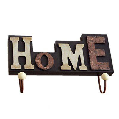 Creative Home Village Wall Hanging Wooden Letter Hook