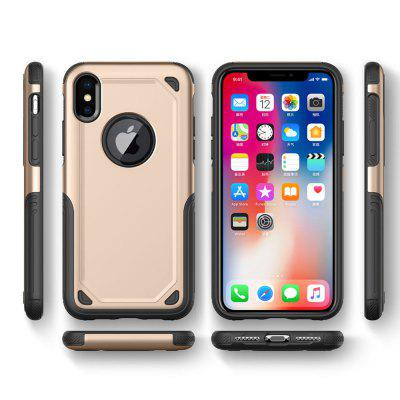 Impact Hybrid Armor for iPhone X Hard Protect Cover StrongiPhone Cases/Covers<br>Impact Hybrid Armor for iPhone X Hard Protect Cover Strong<br><br>Compatible for Apple: iPhone X<br>Features: Anti-knock<br>Material: TPU, PC<br>Package Contents: 1 x Phone Case<br>Package size (L x W x H): 15.00 x 8.00 x 1.00 cm / 5.91 x 3.15 x 0.39 inches<br>Package weight: 0.0400 kg<br>Style: Cool