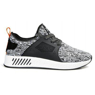 The New Men'S Fashion Fly Weaving Casual Shoes