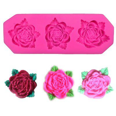 DIY Cake Baking Pan Cake Tools Rose Shape Silicone Cake Mould Chocolate Pudding Mold Kitchen