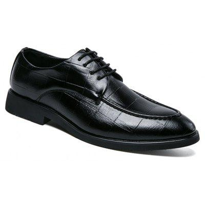 Vendendo Homens Pointed Business Formal Simple British Leather Shoes
