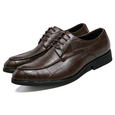 Selling Men Pointed Business Formal Simple British leather ShoesFormal Shoes<br>Selling Men Pointed Business Formal Simple British leather Shoes<br><br>Available Size: 38-44<br>Closure Type: Lace-Up<br>Embellishment: None<br>Gender: For Men<br>Occasion: Dress<br>Outsole Material: Rubber<br>Package Contents: 1 x pair of shoes<br>Pattern Type: Plaid<br>Season: Summer, Winter, Spring/Fall<br>Toe Shape: Pointed Toe<br>Toe Style: Closed Toe<br>Upper Material: Leather<br>Weight: 1.2000kg