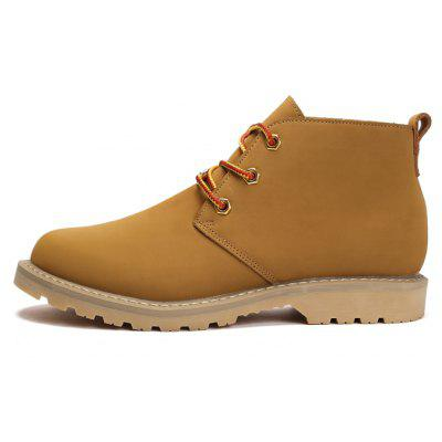 """Autumn and Winter MenS Large Size Genuine Leather Tooling BootsMens Boots<br>Autumn and Winter MenS Large Size Genuine Leather Tooling Boots<br><br>Boot Height: Ankle<br>Boot Type: Work &amp; Safety<br>Closure Type: Lace-Up<br>Embellishment: None<br>Gender: For Men<br>Heel Hight: Low(0.75""""-1.5"""")<br>Heel Type: Low Heel<br>Outsole Material: Rubber<br>Package Contents: 1 x pair of shoes<br>Pattern Type: Solid<br>Season: Winter, Spring/Fall<br>Toe Shape: Round Toe<br>Upper Material: Genuine Leather<br>Weight: 1.8000kg"""