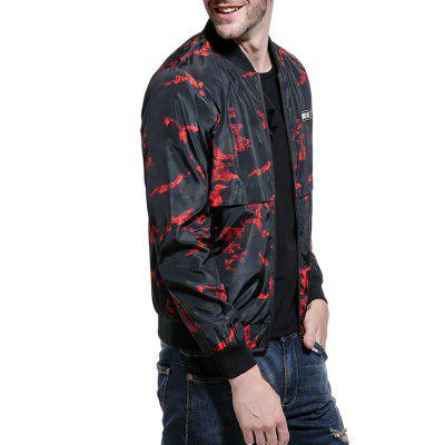 Spring and Autumn New Men Camouflage Jacket Collar Jacket MenMens Jackets &amp; Coats<br>Spring and Autumn New Men Camouflage Jacket Collar Jacket Men<br><br>Clothes Type: Jackets<br>Collar: Stand Collar<br>Material: Polyester<br>Package Contents: 1 x  jacket<br>Season: Spring, Fall<br>Shirt Length: Regular<br>Sleeve Length: Long Sleeves<br>Style: Casual<br>Weight: 0.5000kg